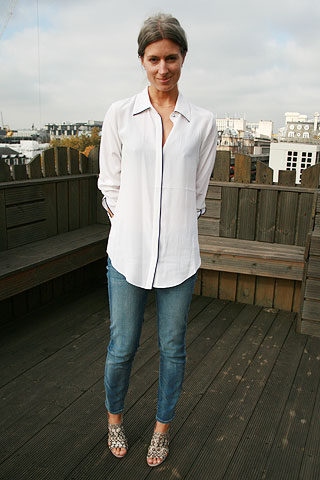 The White Button Up