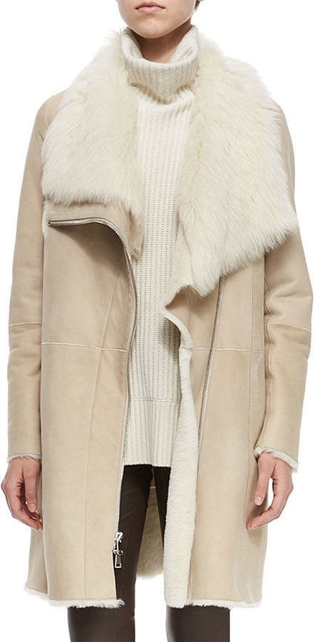 coat - Vince-Asymmetric-Shearling-Fur-Coat-Creme-2495